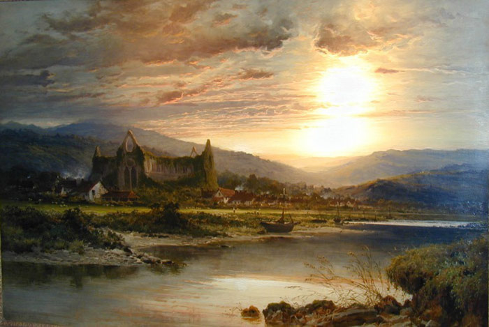 Tintern Abbey  Painting Reproductions