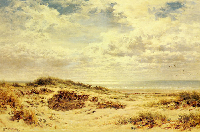 Morning on the Sussex Coast, 1911  Painting Reproductions