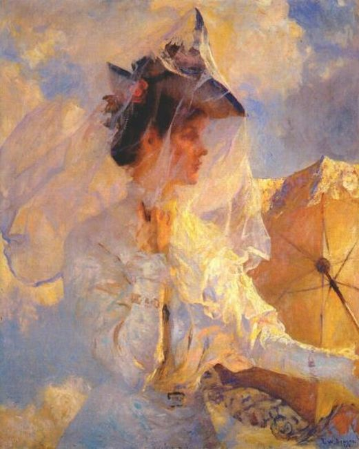 Against the Sky, 1906  Painting Reproductions