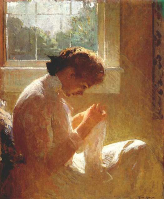 The Sunny Window, 1919  Painting Reproductions