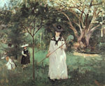 Morisot, Berthe The Butterfly Chase, 1874 Art Reproductions