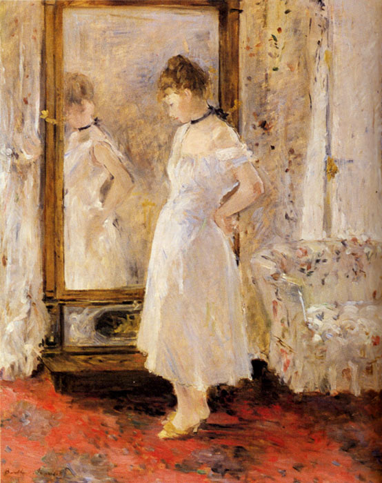 The Cheval Glass, 1876  Painting Reproductions
