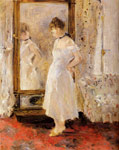 Morisot, Berthe The Cheval Glass, 1876 Art Reproductions