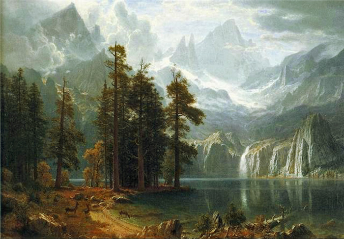 Sierra Nevada I  Painting Reproductions