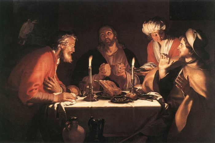 The Emmaus Disciples, 1622  Painting Reproductions