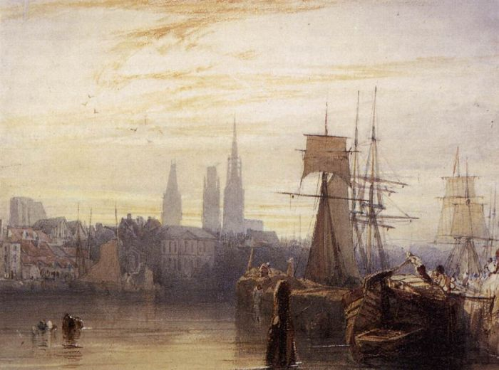 Rouen, 1825  Painting Reproductions