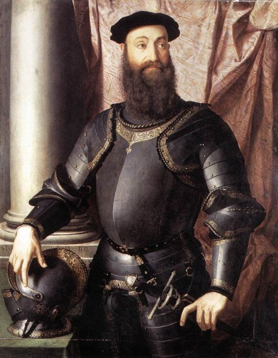 Portrait of Stefano IV Colonna, 1546  Painting Reproductions