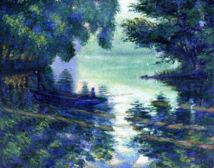The Seine near Giverny, 1911  Painting Reproductions