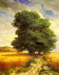 0 Landscape with Oak Trees Art Reproductions