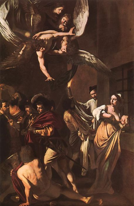 The Seven Works of Mercy, 1606  Painting Reproductions