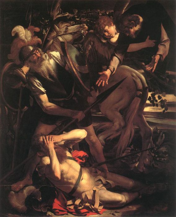 The Conversion of St. Paul, 1600 - 1601  Painting Reproductions