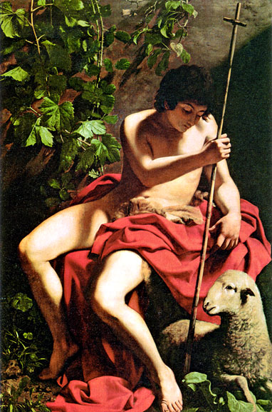 John the Baptist, 1597 - 1598  Painting Reproductions
