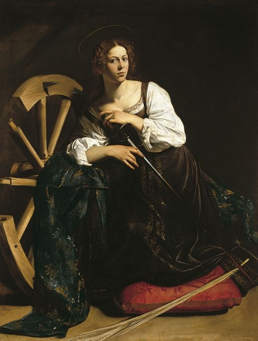 Saint Catherine of Alexandria, 1598  Painting Reproductions