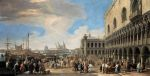 Carlevaris, Luca Venice: A View of the Molo, 1710 Art Reproductions