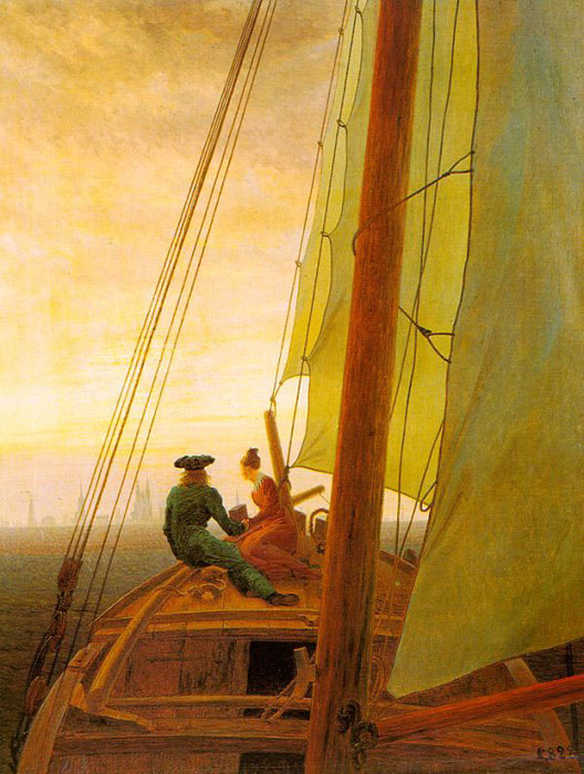 On board a Sailing Ship  Painting Reproductions
