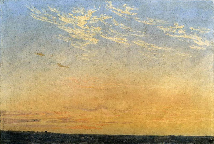 Evening, 1824  Painting Reproductions