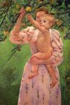 0  Baby Reaching For An Apple , 1893 Art Reproductions