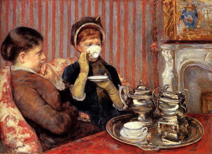 Tea , 1879  Painting Reproductions