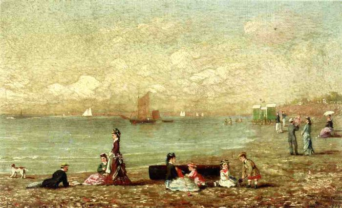 Shoreham de Brighton , 1879  Painting Reproductions