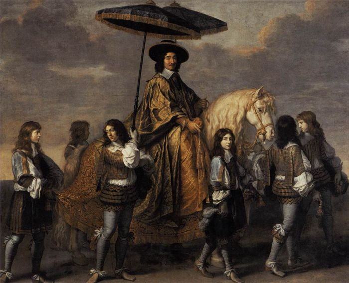 Chancellor Séguier at the Entry of Louis XIV into Paris, 1655  Painting Reproductions
