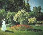 5622 Jeanne-Marguerite Lecadre in the Garden, 1866 Art Reproductions