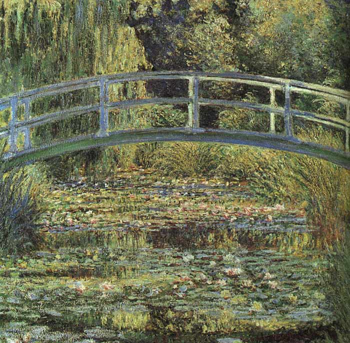 The Waterlily Pond, 1899  Painting Reproductions