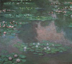 Monet, Claude Oscar Water Lillies I Art Reproductions