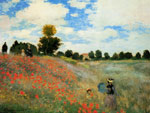Monet, Claude Oscar Poppies at Argenteuil, 1873	 Art Reproductions