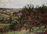 Monet, Claude Oscar Apple Trees near Vetheuil , 1878	 Art Reproductions