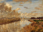 Monet, Claude Oscar Argenteuil, Seen from the Small Arm of the Seine, 1872 	 Art Reproductions
