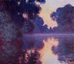 Monet, Claude Oscar Arm of the Seine near Giverny at Sunrise , 1897	 Art Reproductions