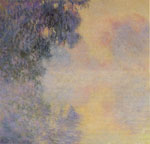 Monet, Claude Oscar Arm of the Seine near Giverny in the Fog, 1897	 Art Reproductions