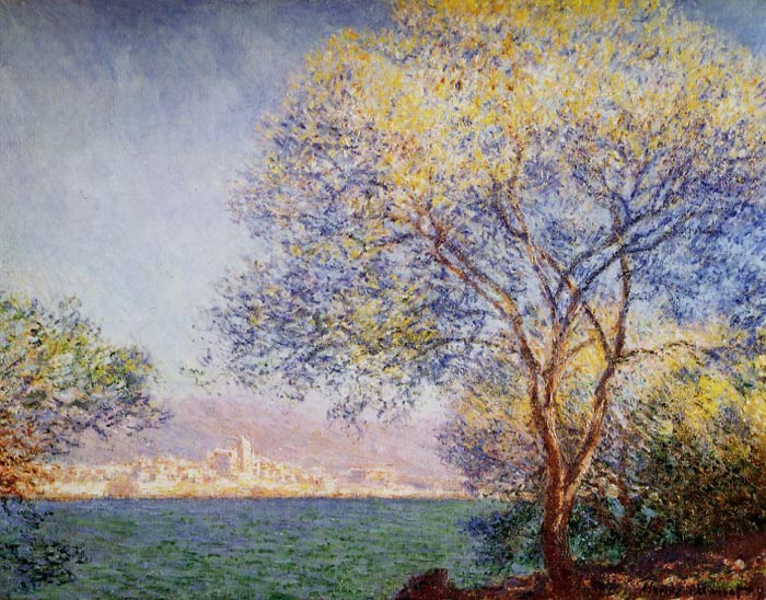 Antibes in the Morning, 1888	  Painting Reproductions
