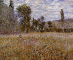Monet, Claude Oscar A Meadow , 1879	 Art Reproductions