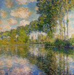 5699 Poplars on the Banks of the River Epte, 1891	 Art Reproductions