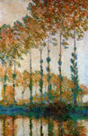 5702 Poplars on the Banks of the River Epte in Autumn, 1891	 Art Reproductions