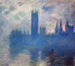 Monet, Claude Oscar Houses of Parliament, Westminster , 1900 Art Reproductions