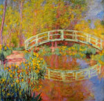 Monet, Claude Oscar The Japanese Bridge at Giverny, 1896 Art Reproductions