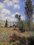 5841 Lane in the Poppy Fields, Ile Saint-Martin , 1880	 Art Reproductions