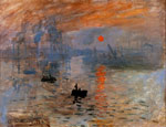 5851 Impression, Sunrise , 1873	 Art Reproductions