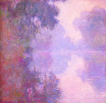 Monet, Claude Oscar Misty morning on the Seine , 1892	 Art Reproductions