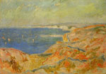 Monet, Claude Oscar On the Cliff near Dieppe, 1897	 Art Reproductions
