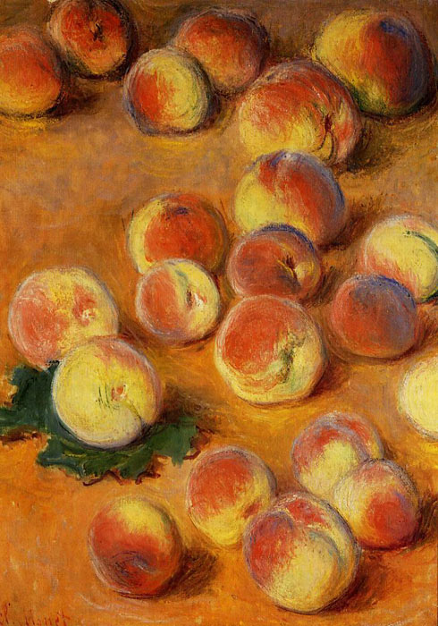 Peaches , 1883	  Painting Reproductions