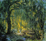 Monet, Claude Oscar Weeping Willow , 1918	 Art Reproductions