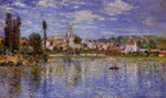Monet, Claude Oscar Vetheuil in Summer , 1880	 Art Reproductions