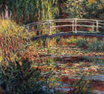 Monet, Claude Oscar Water-Lily Pond, Symphony in Rose , 1900	 Art Reproductions