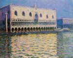 Monet, Claude Oscar The Doge's Palace at Venice Art Reproductions