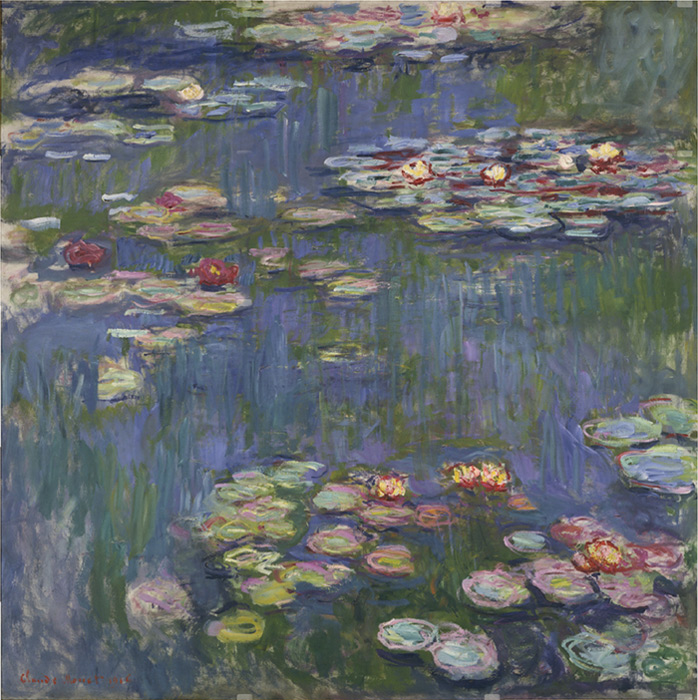 Water Lilies  Painting Reproductions