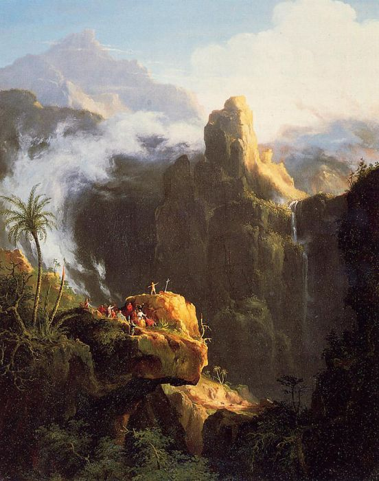 Saint John in the Wilderness, 1827  Painting Reproductions