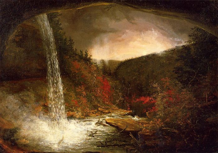 Kaaterskill Falls, 1826  Painting Reproductions